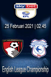 Live Streaming Bournemouth vs Cardiff